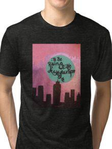 skyscraper  Tri-blend T-Shirt