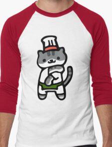 Guy Furry - Neko Atsume Men's Baseball ¾ T-Shirt