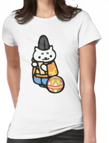 Kathmandu - Neko Atsume Womens Fitted T-Shirt