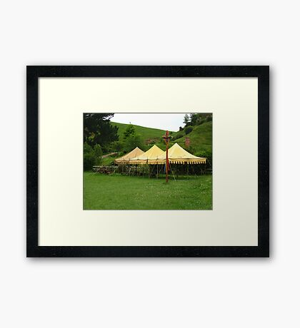 Party In The Shire Framed Print