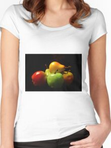 Fruit Stack Women's Fitted Scoop T-Shirt