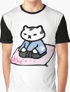 Mr Meowgi - Neko Atsume Graphic T-Shirt