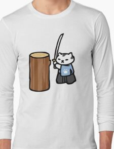 Mr Meowgi - Neko Atsume Long Sleeve T-Shirt
