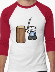 Mr Meowgi - Neko Atsume Men's Baseball ¾ T-Shirt