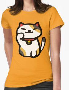 Ms Fortune - Neko Atsume Womens Fitted T-Shirt