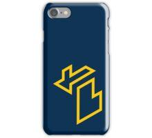 Isometric Michigan (University of Michigan) iPhone Case/Skin