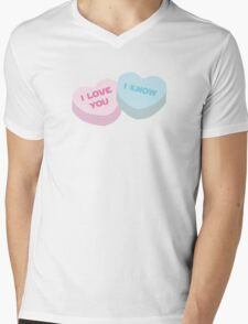 I love you... I know. Mens V-Neck T-Shirt