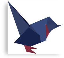 ORIGAMI BIRD VECTOR Canvas Print