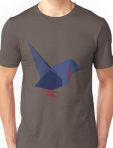 ORIGAMI BIRD VECTOR Unisex T-Shirt
