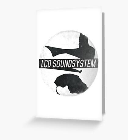 LCD Soundsystem Greeting Card