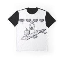 Legend of Zelda Equpiment Graphic T-Shirt