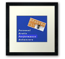 Spanish Fly PEPE Products Framed Print