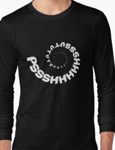PSHHSUTUTU - Turbo Dose Boost Noise JDM Window Sticker / Tee - White Long Sleeve T-Shirt