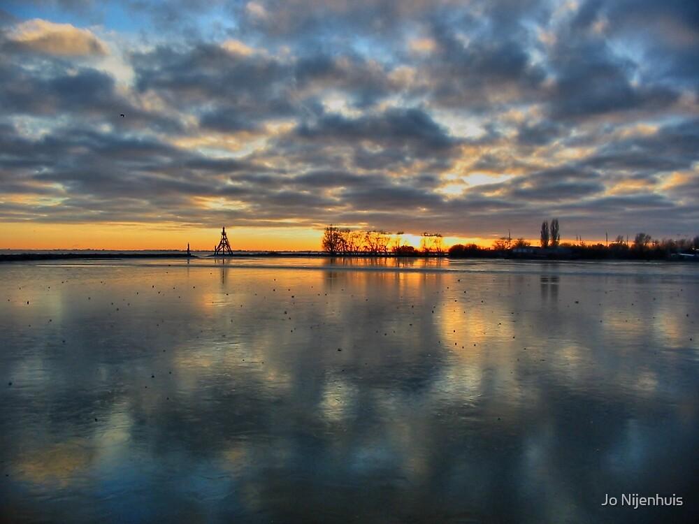 The Magic Of A Sunset by Jo Nijenhuis