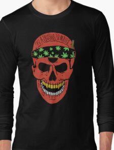 Flatbush Zombies Red Skull Tee Long Sleeve T-Shirt