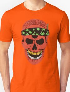 Flatbush Zombies Red Skull Tee T-Shirt