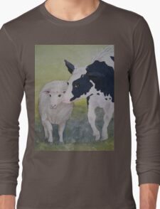 Best of Friends 2 by Heather Holland Long Sleeve T-Shirt