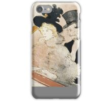 Henri de Toulouse-Lautrec, (– ), AU CONCERT iPhone Case/Skin