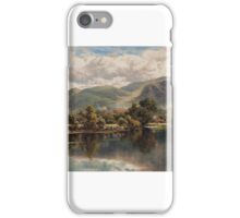 Henry Hillier Parker ()   The Church Pool, Bettws-y-Coed, North Wales iPhone Case/Skin