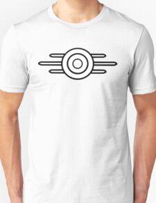 Vault Tech | Logo | Black | White Background | HIGH QUALITY T-Shirt