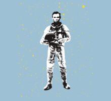 Astronaut Lincoln Baby Tee