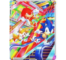 Sonic the Hedgehog in Joypolis iPad Case/Skin