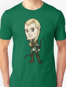 Lord of the Rings - Legolas the Elf with Bow T-Shirt