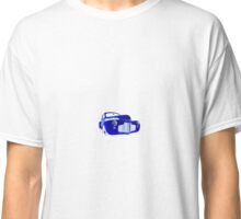 1941 Master Deluxe WHITE FLAME ON BLUE Classic T-Shirt