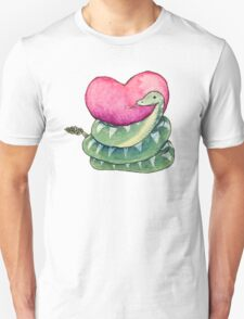 Valentines Snake Unisex T-Shirt