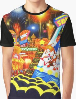 Sonic the Hedgehog live in concert! Graphic T-Shirt