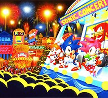 Sonic the Hedgehog live in concert! by UnitShifter