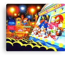 Sonic the Hedgehog live in concert! Canvas Print