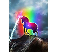 Galaxy Unicorn Photographic Print