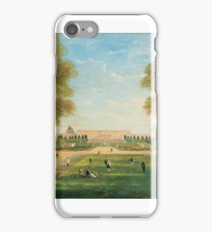 JULES-CHARLES ROZIER ; PROMENADE IN THE VERSAILLES PARK  iPhone Case/Skin