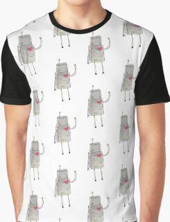Hello Robot Graphic T-Shirt