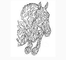 Doodle Horse Showjumper / Hunter Unisex T-Shirt