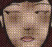 Raw Daria Sticker