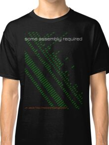 Some assembly required (arm) Classic T-Shirt