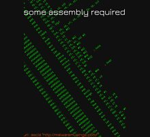 Some assembly required (arm) Unisex T-Shirt