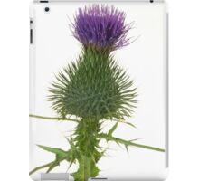 Thistle Flower iPad Case/Skin