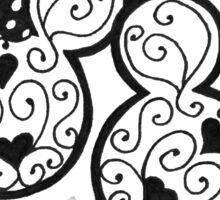 Mickey & Minnie Sticker