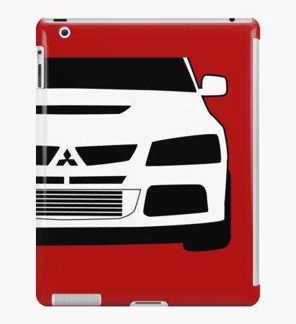 Mitsubishi Lancer Evo - Zoom Close Up Left Side Corner Edge - Sticker / Case Design iPad Case/Skin