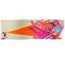Yoshimi Battles the Pink Robots Poster