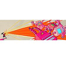 Yoshimi Battles the Pink Robots Photographic Print