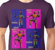 Mardi Gras Jesters Unisex T-Shirt