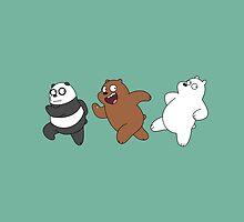 We Bare Bears Sneaking by vladmartin