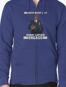 Robot Captain Engage T-Shirt