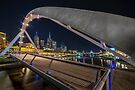 Southgate Bridge At Night by Ray Warren