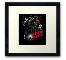 Sith City (Colab with  LgndryPhoenix) Framed Print