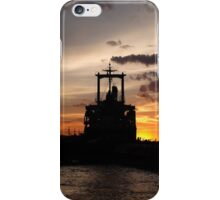 Giant in the habour. iPhone Case/Skin